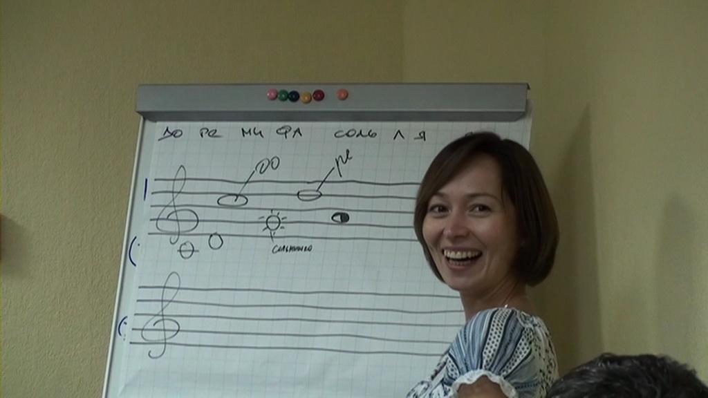 Урок фортепиано на хоровом отделении - 7fcf